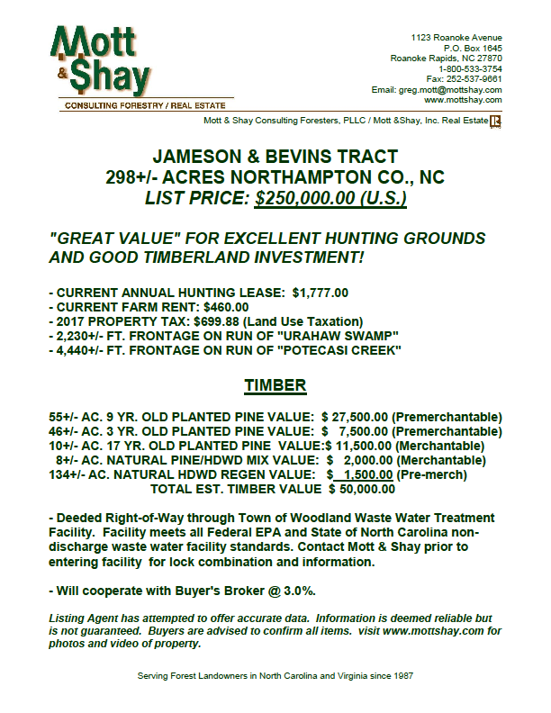 Mott & $hay, Inc